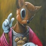 blessing bambi (60x46) 2011 malojoart
