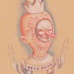jugg head (18x24) 2012 malojoart
