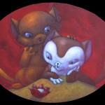 meow meow (40x30) 2012 malojoart